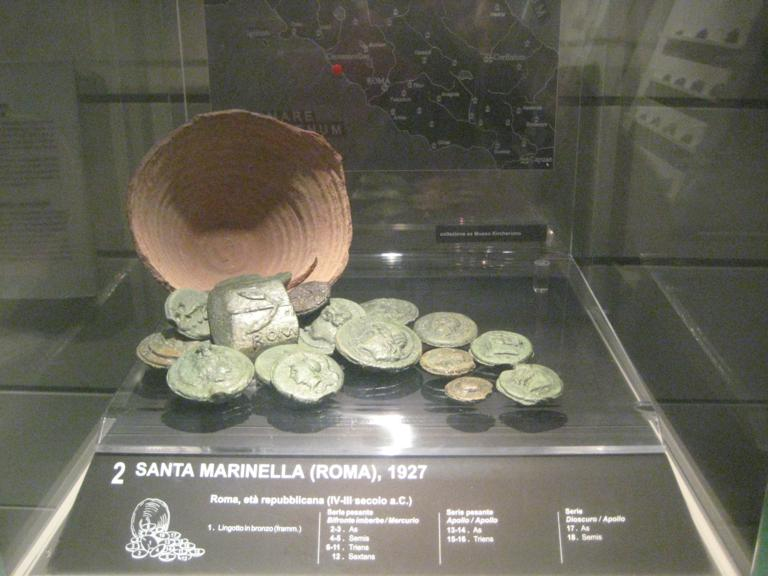Visita numismática a Roma