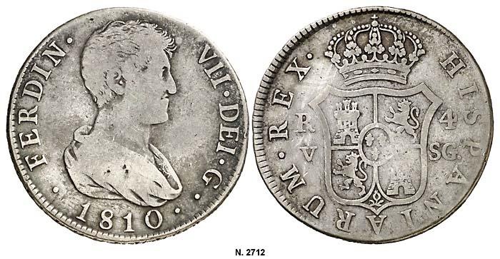 4 reales Valencia 1810