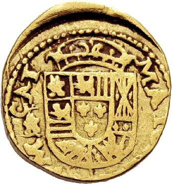 2 escudos 1723 Palma