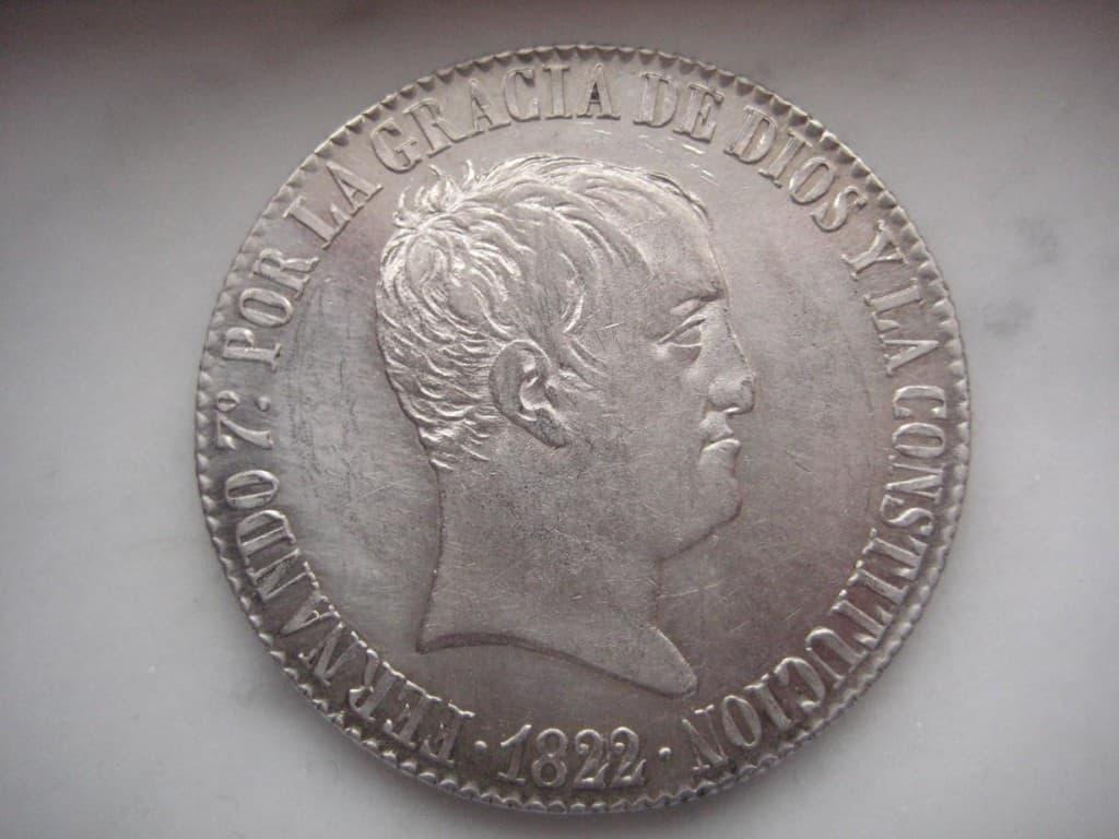 20 reales 1822