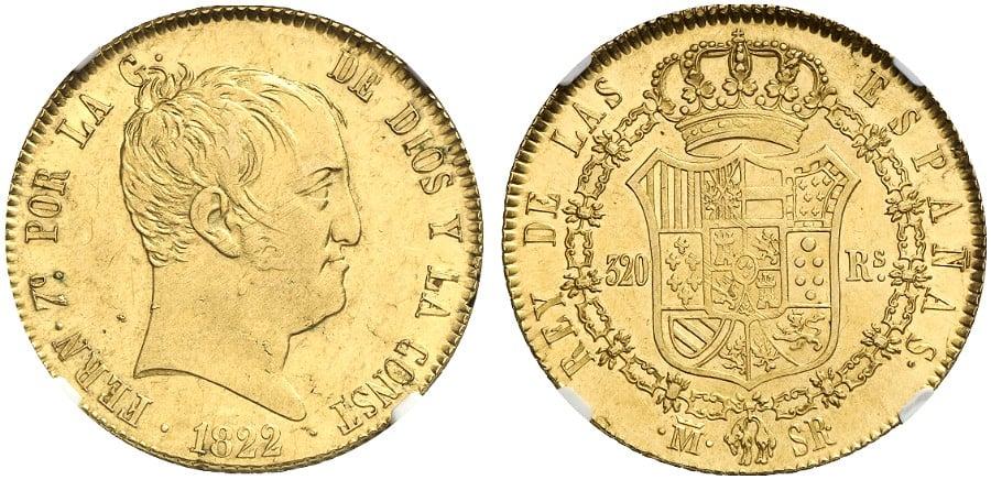 320 reales 1822