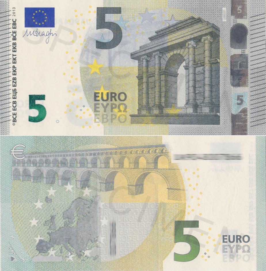 Coleccionar billetes de euro
