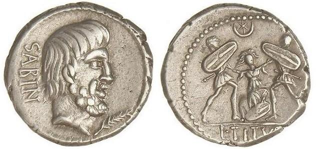 denario Tarpeia