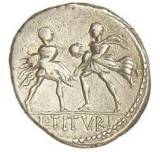 Los denarios de Gens Tituria