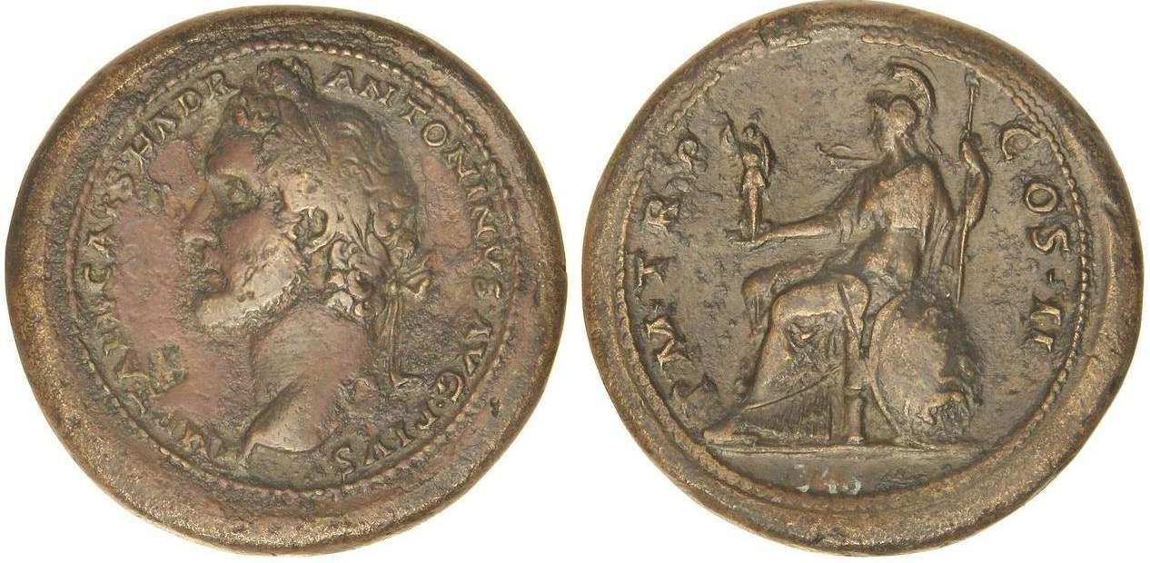 medallón Antonio Pío