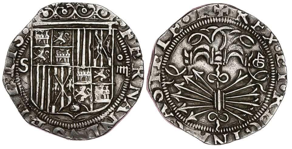4 reales Reyes Católicos