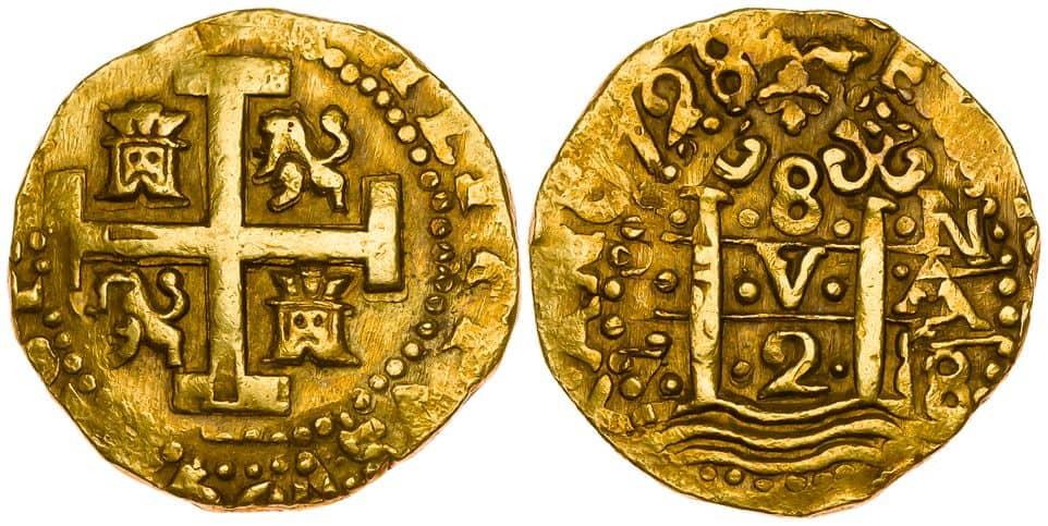 8 escudos Felipe V