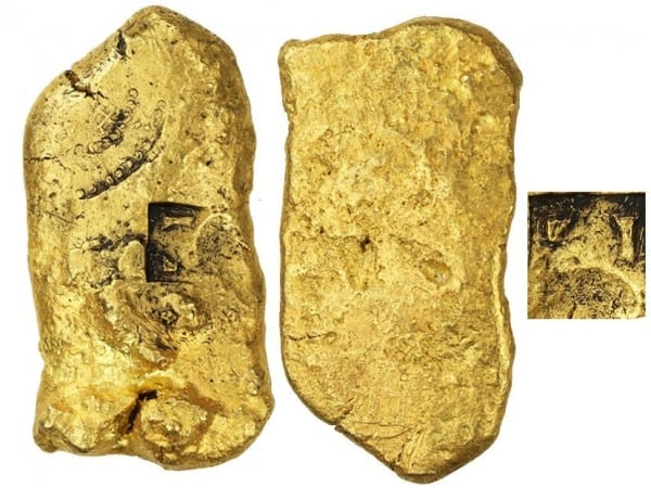 lingote oro corriente