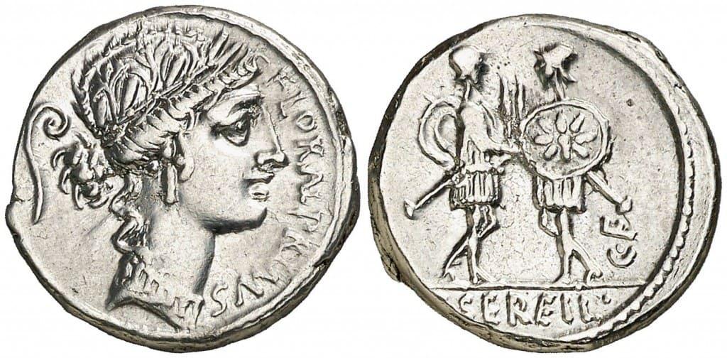 denario gens servilia