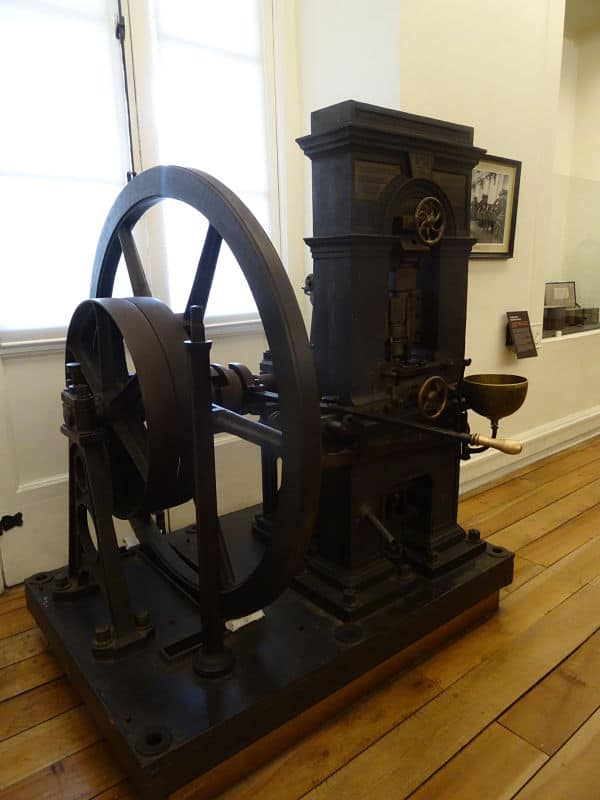 maquina de acuñar monedas Thonnelier