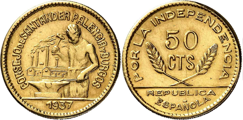 moneda guerra civil