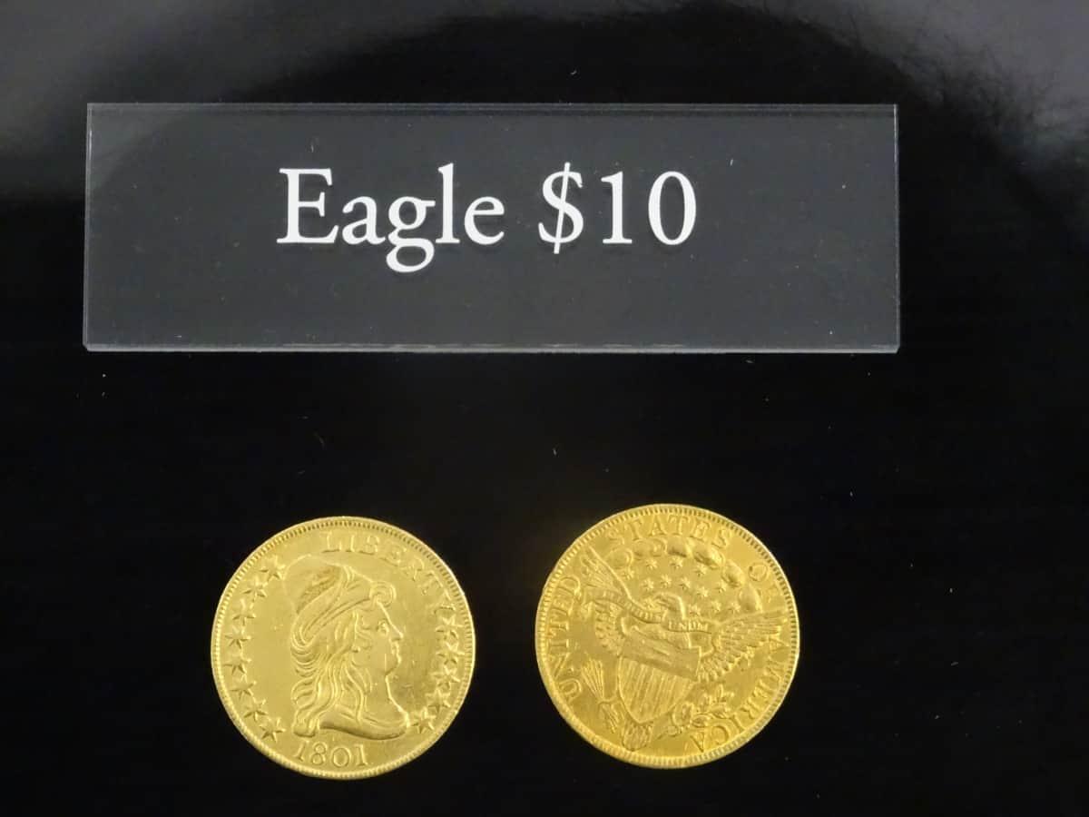 10 dólares 1801