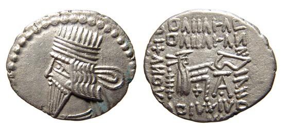 dracma Vologases III