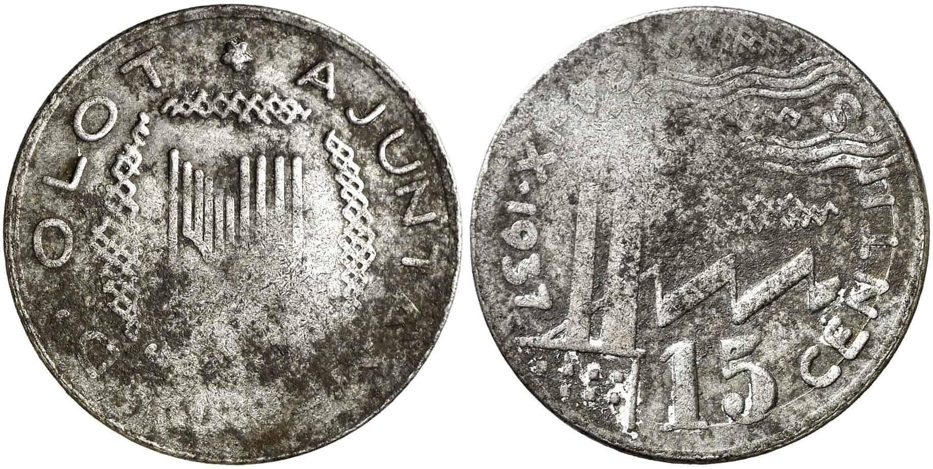 15 céntimos de Olot