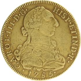 4 escudos 1785
