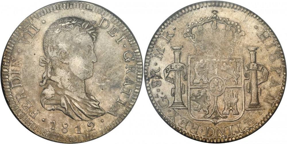 8 reales Guadelajara 1812