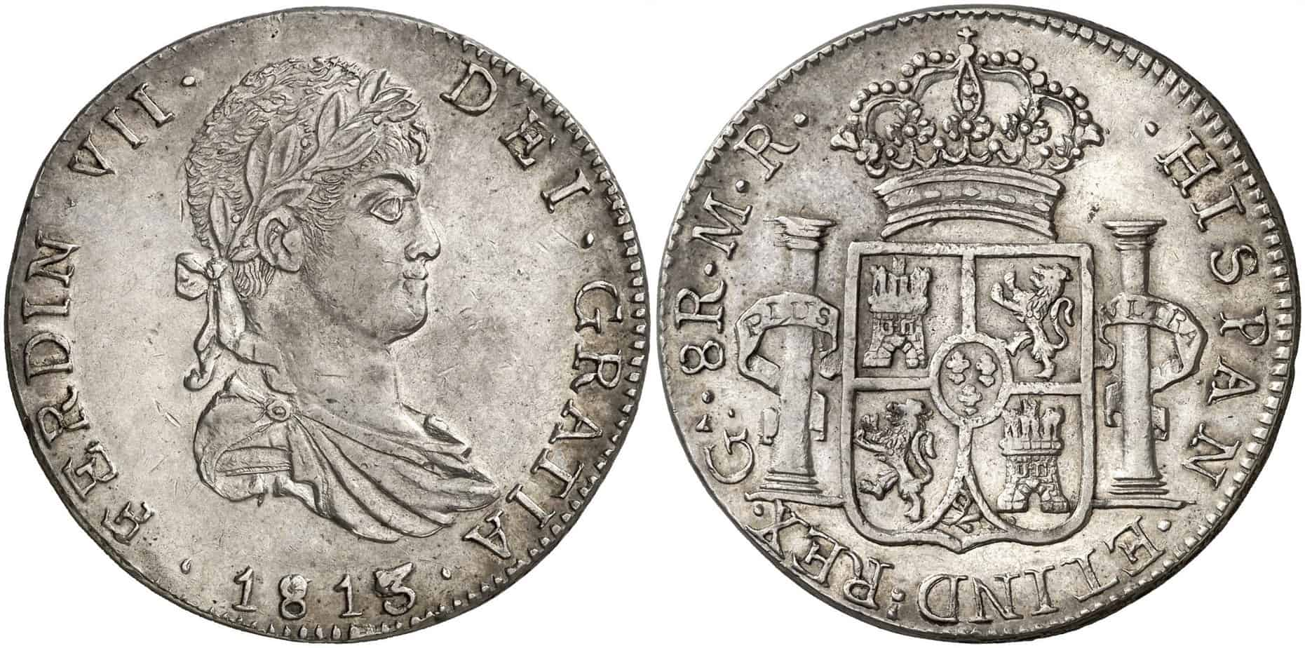8 reales Guadelajara 1813