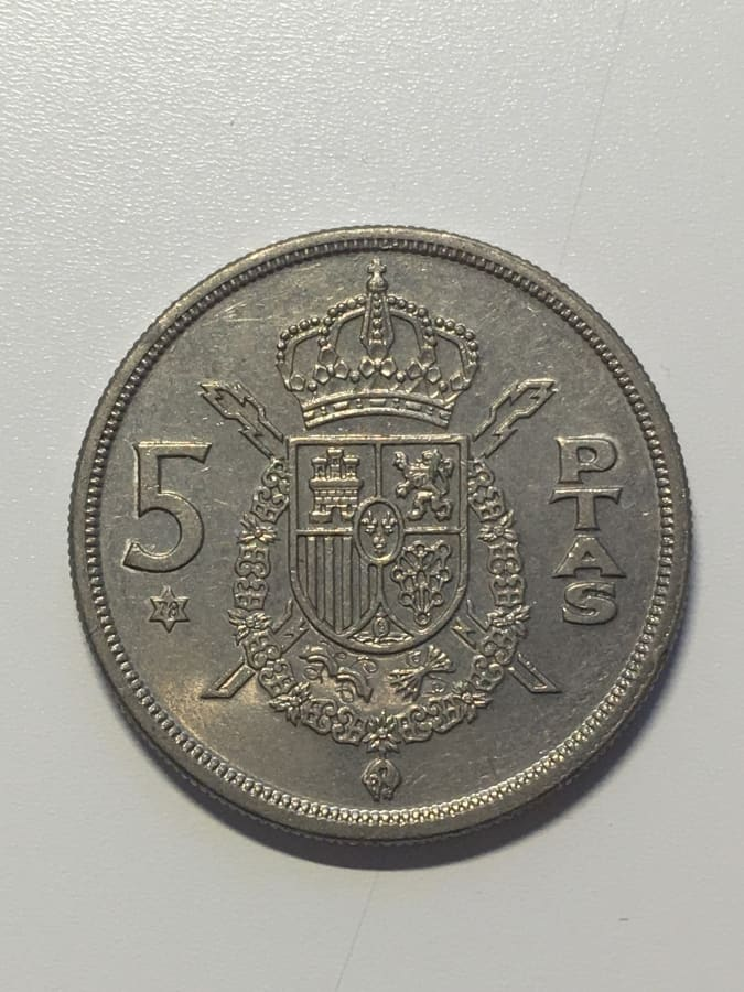 5 pesetas 1975*78