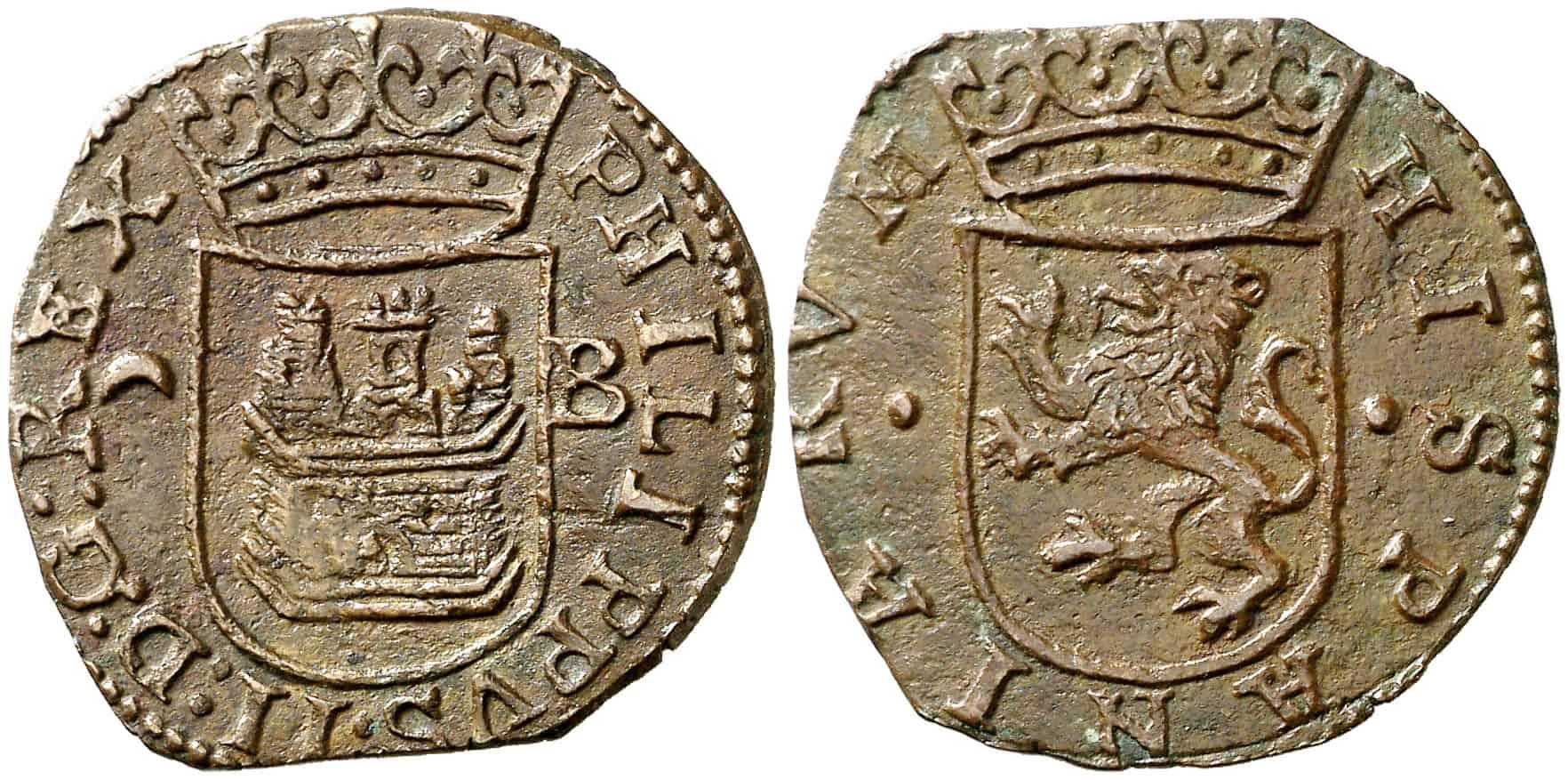 cuartillo Burgos Felipe II