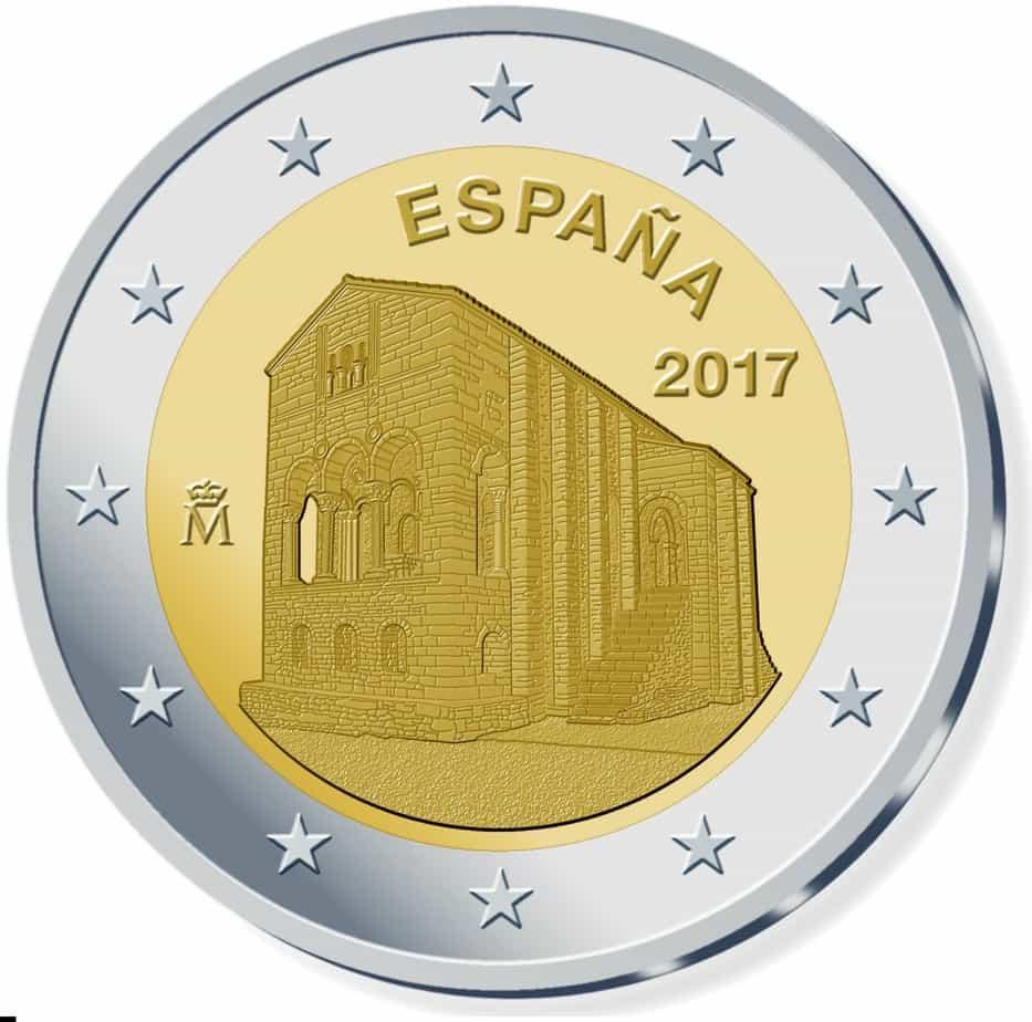 2 euros España 2017