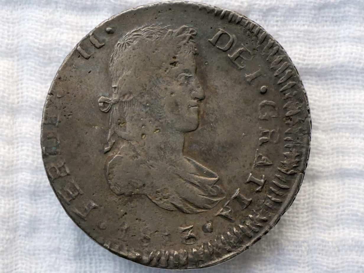 8 reales Guadalajara 1813