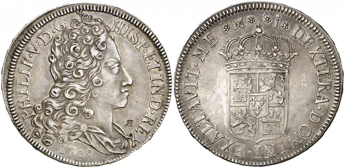 4 reales 1709