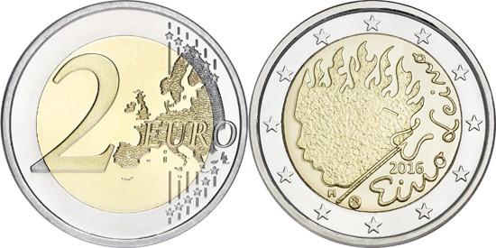 2 euros Eino Leino