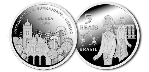 5 reales Brasil Olinda