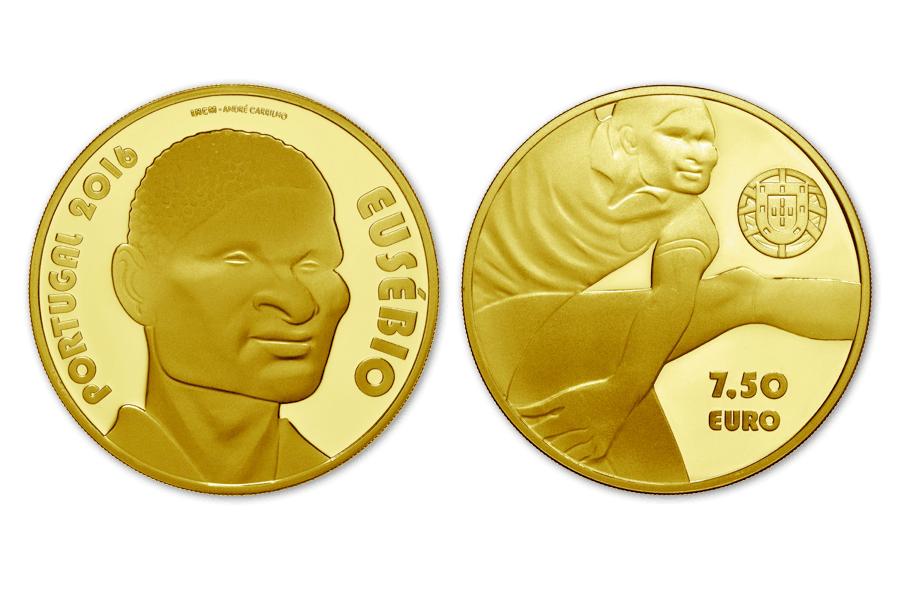 Portugal. 7,5 euros Eusebio