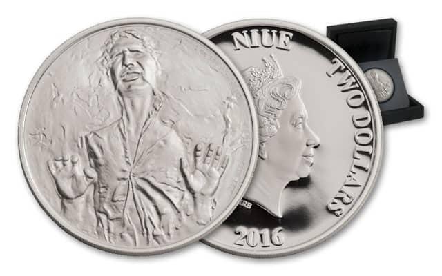 Niue. 2 dólares Hans Solo