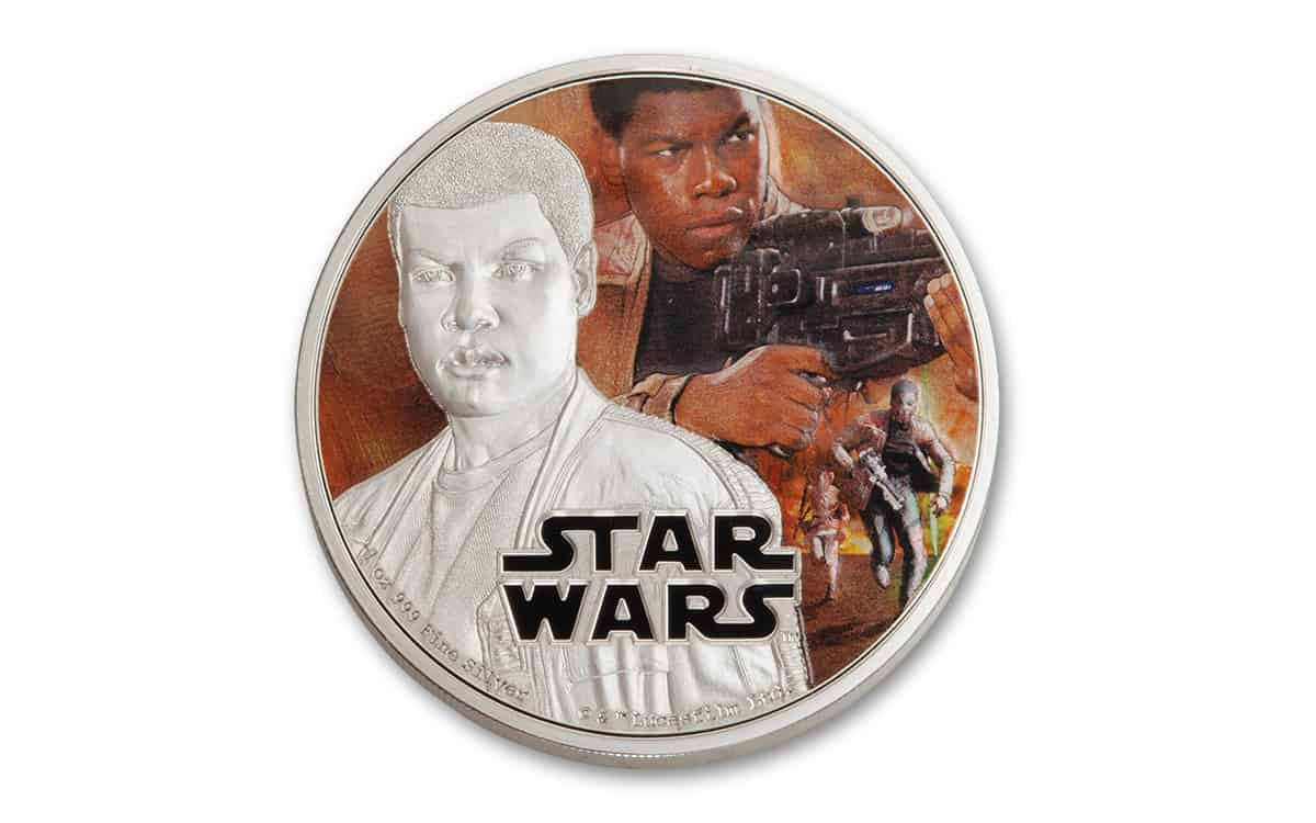 2 dólares. Serie Star Wars