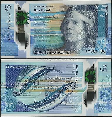 Escocia 5 libras