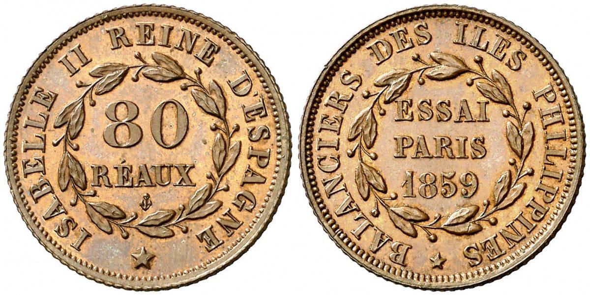 80 reaus 1859 Paris