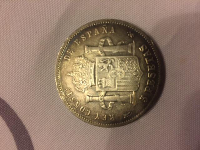 5 pesetas