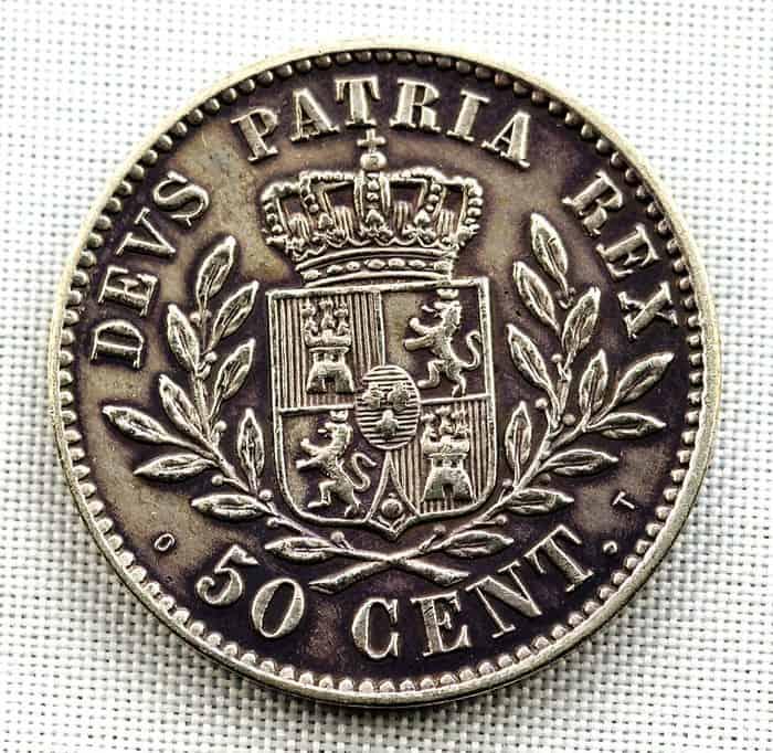 50 céntimos Bruselas