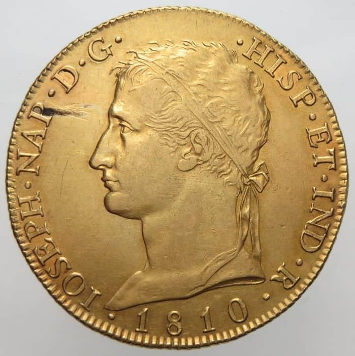 8 escudos 1810 José I