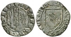 Dobla de la banda. Moneda medieval de oro castellana (figura 9)