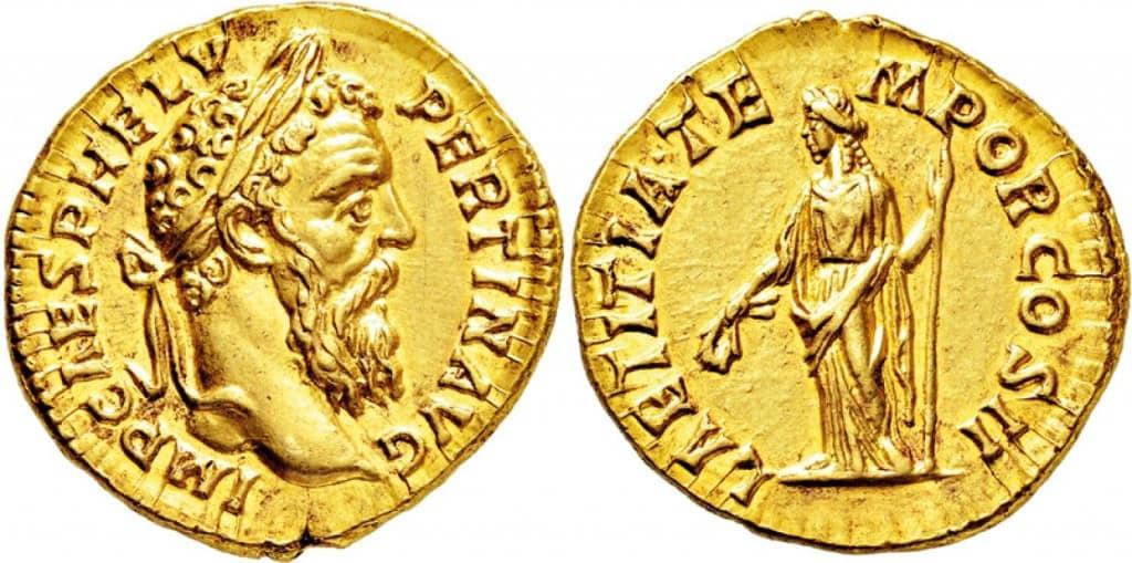 Aureo de Pertinax