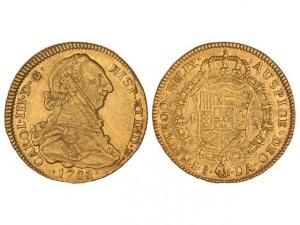 4 escudos Santiago 1788