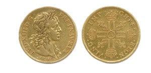 Luis XIII, cuatro luises de oro por Jean Warin