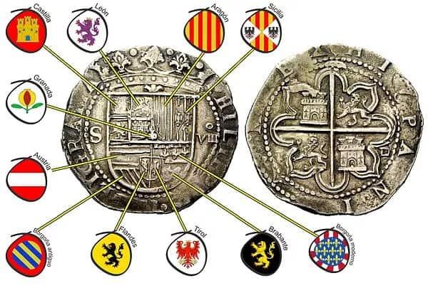 Macuquina de Sevilla B- (tipo I Felipe II)