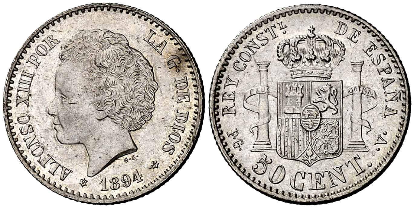 50 céntimos ebc+