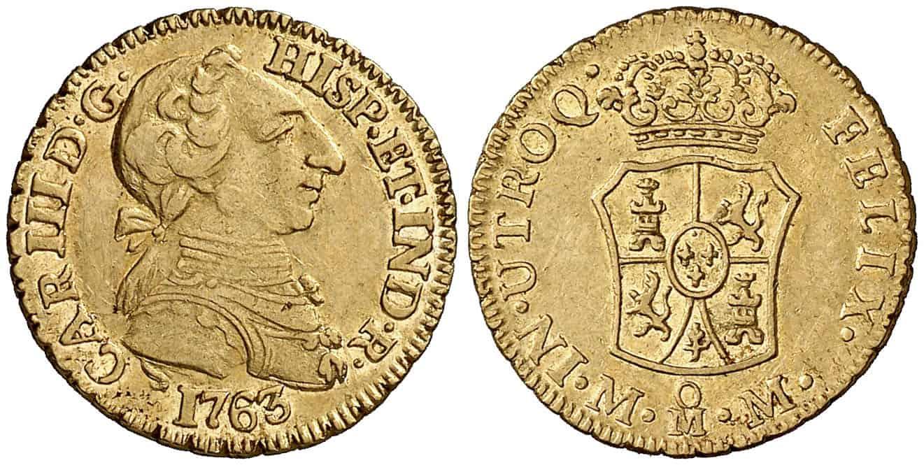 1 Escudo México 1763