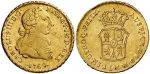2 Escudos Lima 1769