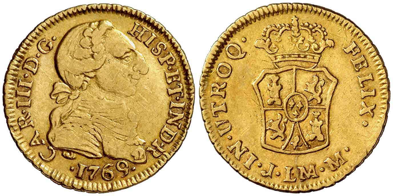 1 Escudo Lima 1769