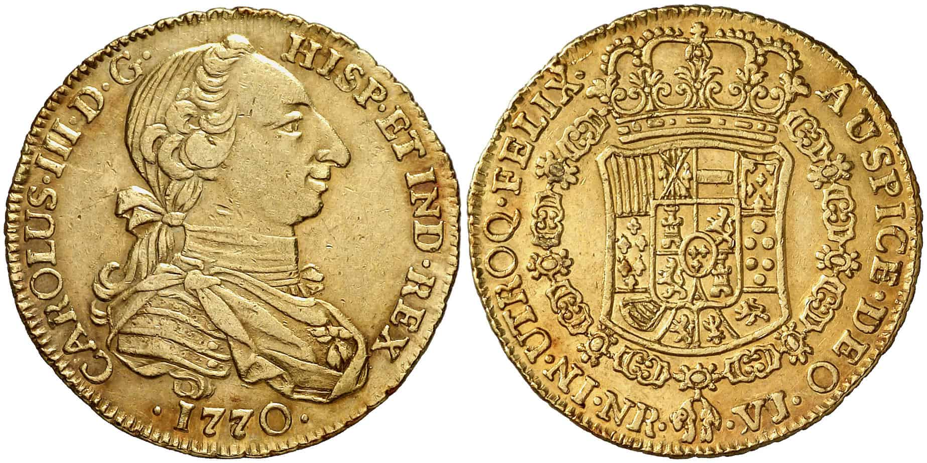 4 Escudos Santa Fe 1770