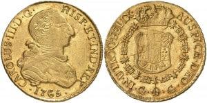 8 Escudos Guatemala, 1765