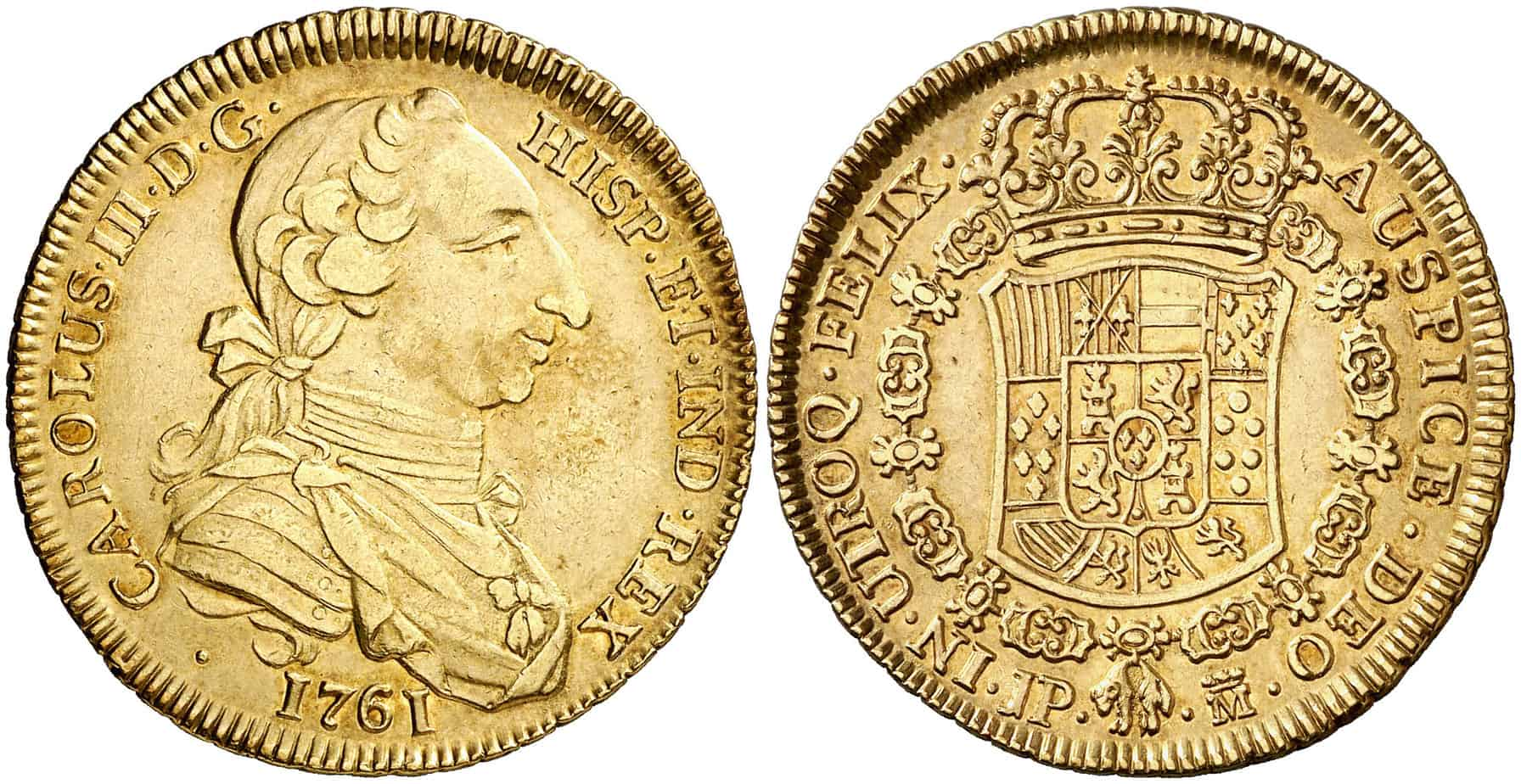 4 Escudos Madrid 1761