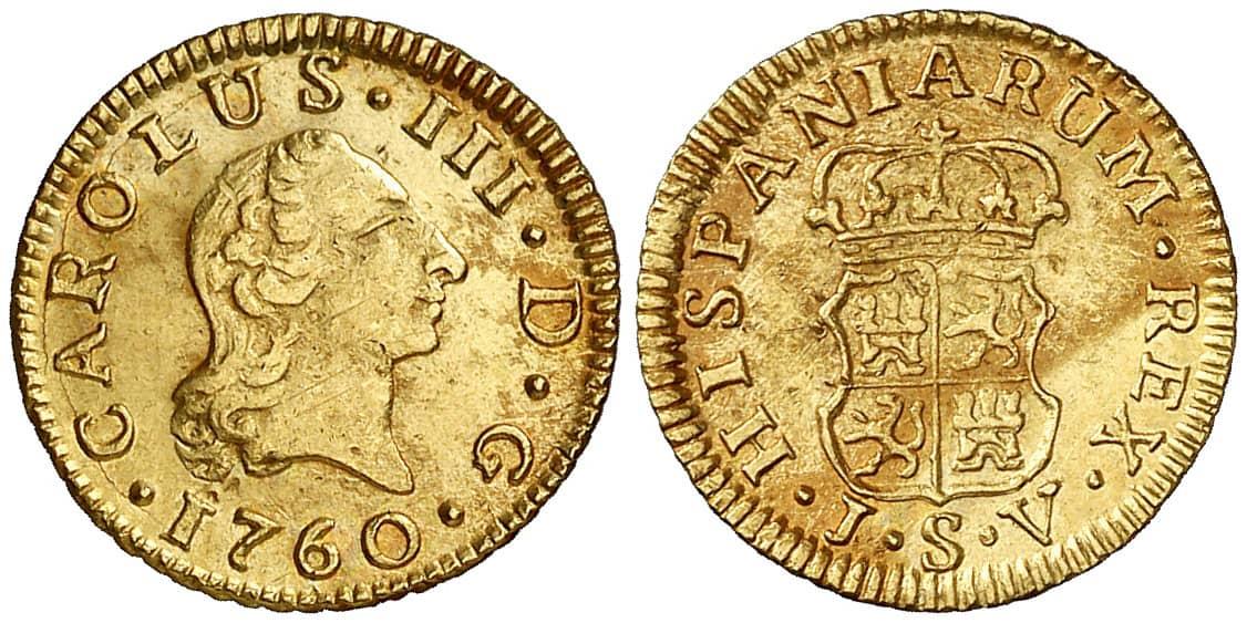 Medio Escudo Sevilla 1760