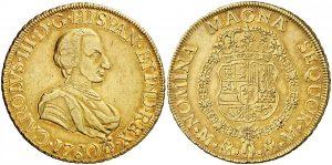 8 escudos México, 1760